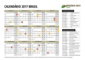 Calendario 2018 Brasil Feriados Calend 225 2017 Do Brasil Feriados Para Imprimir