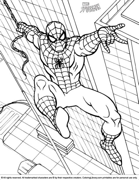 easy coloring pages of spiderman spider man coloring pages easy coloring pages