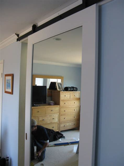 Bathroom Mirror Ideas Diy by Barn Door In Belmont