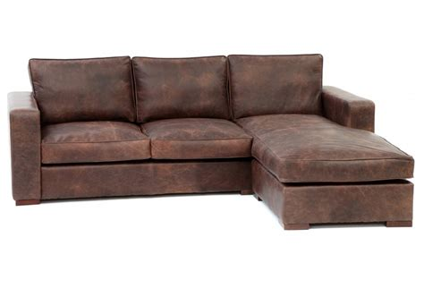 Battersea Chaise End Extra Large Leather Corner Sofa From Large Leather Corner Sofa