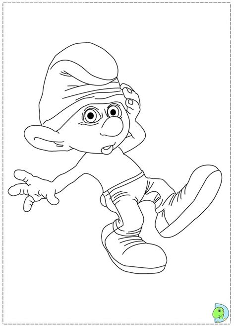 smurfette coloring page the smurfs smurfette holding on