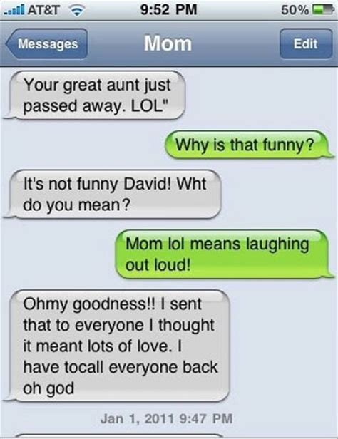 Funny Texts - 30 funny text messagesthe loud laugh