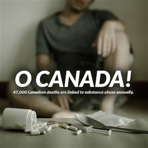 Addiction Canada Detox by O Canada 47 000 Canadian Deaths Are Linked To Substance
