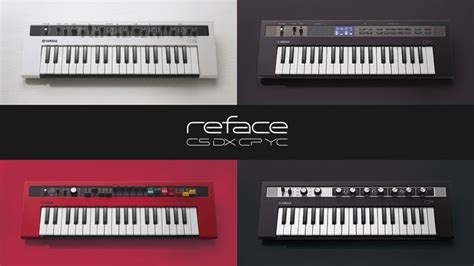 Yamaha Reface Yc Portable Mini Keyboard Combo Organ yamaha reface classic sounds in four portable keyboards musicradar