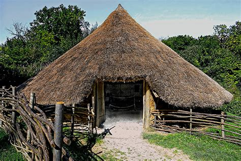 thatched roof 1990s volunteers archives chiltern open air museum