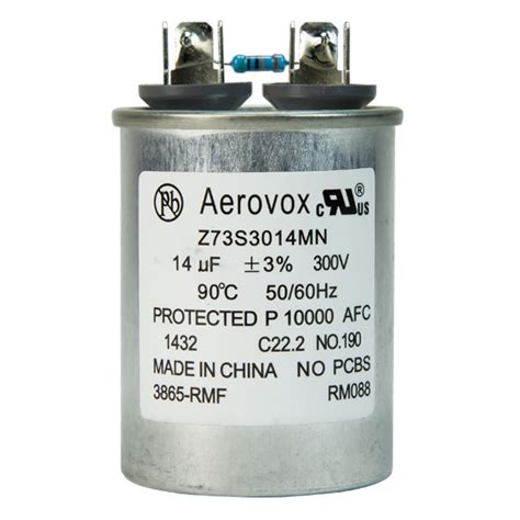 capacitor for hid ballasts hid lighting capacitor 300vac aerovox z73s3014mn