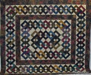 quilting lattice chain patterns on