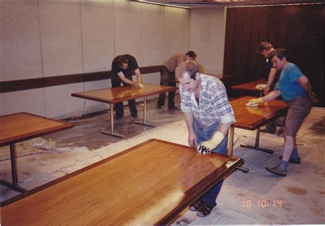 office furniture refinishing of desks conference tables