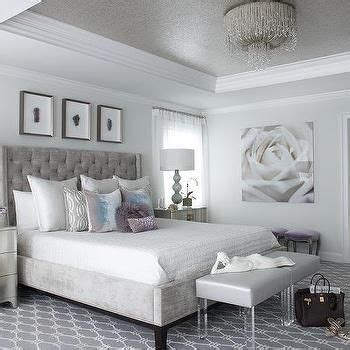 silver and white bedroom designs 17 best ideas about tray ceilings on painted
