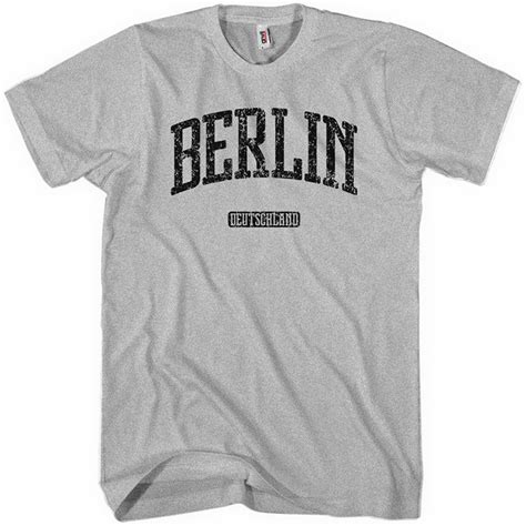 T Shirt Berlin berlin germany t shirt german theme clothes smash