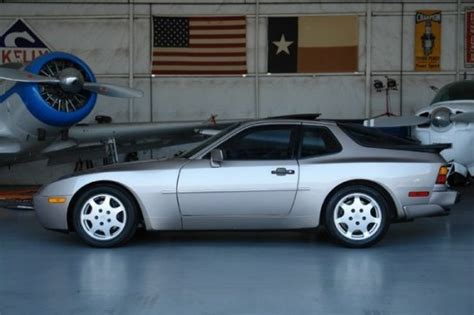 porsche 944 silver 1988 porsche 944 turbo s silver rose with 7 000 miles