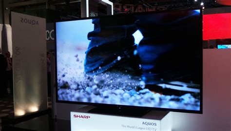 Tv Sharp Cleopatra 21 sharp s 90 inch tv arrives in australia for 21k gadget australia