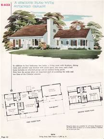 Cape Cod Floor Plans by Midcentury Colonial Cape Cod 1955 National Plan Service