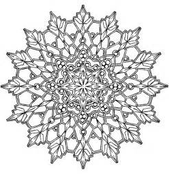 Kaleidoscope Design Coloring Pages sketch template