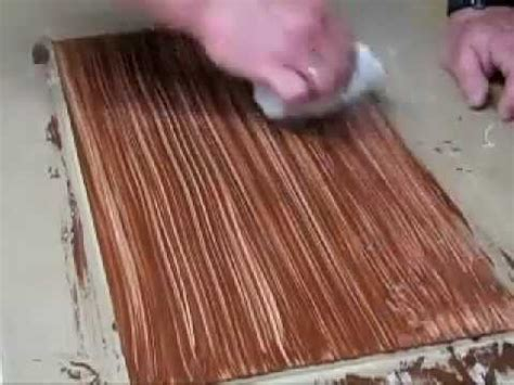 How To Make Paper Wood - faux wood floor on mdf