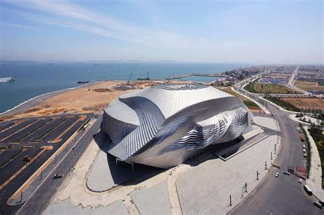 Convention Center Floor Plan Dalian International Conference Center Coop Himmelb L Au