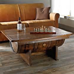 Wine Barrel Coffee Table 8 Stunning Uses For Wine Barrels