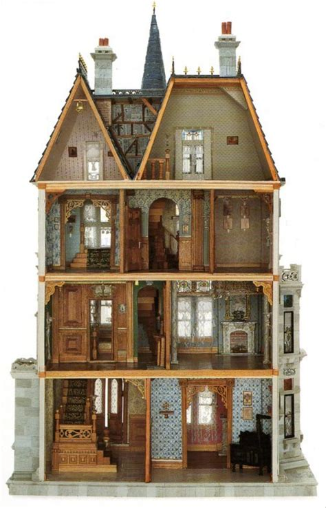 vintage dolls house a palace antique castle doll doll house image 436372 on favim com