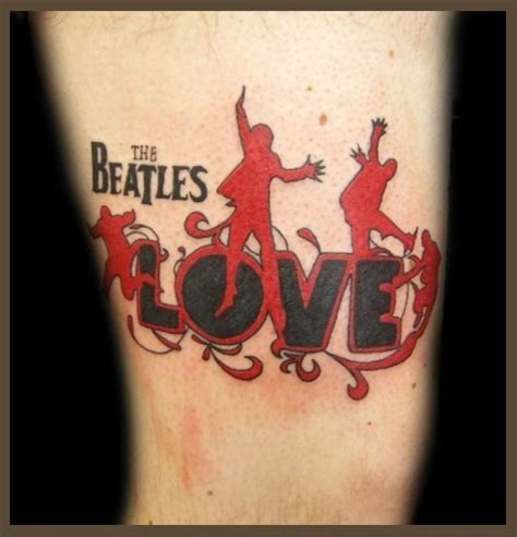 beatles tattoo designs beatles ideas