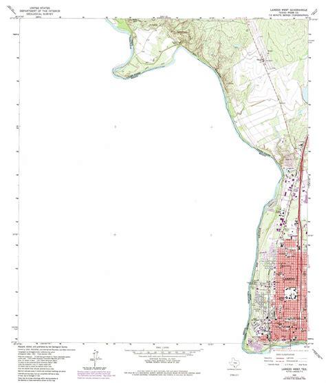 map of laredo texas laredo west topographic map tx usgs topo 27099e5