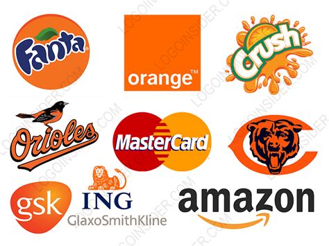 image gallery logos that are orange