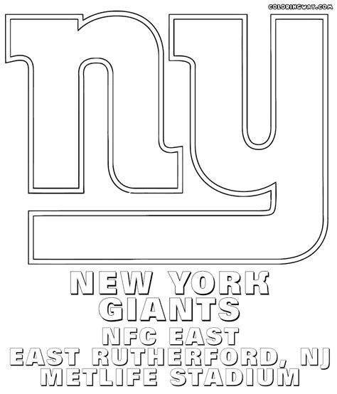 nfl giants coloring pages new york giants coloring pictures diannedonnelly com