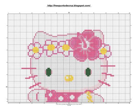 imagenes de kitty en punto de cruz dibujos punto de cruz gratis hello kitty