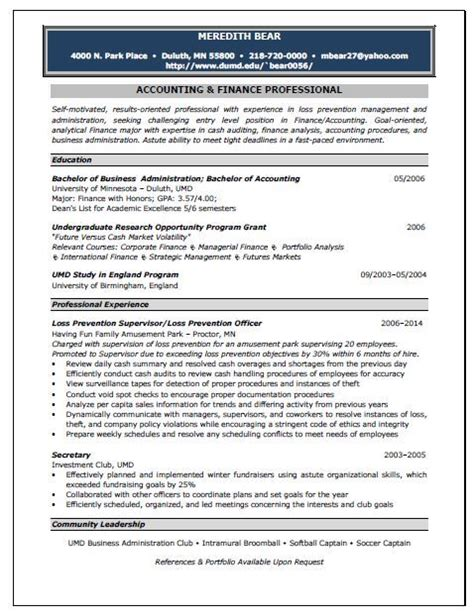 Resume Tips Cpa Staff Accountant Resume Tips