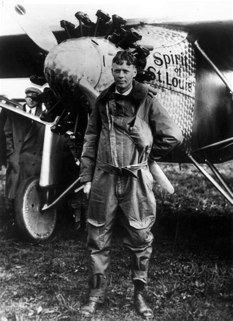 Pictures Of Charles Lindbergh