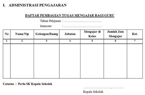 format buku ekspedisi intern contoh format administrasi kepala sekolah terbaru info