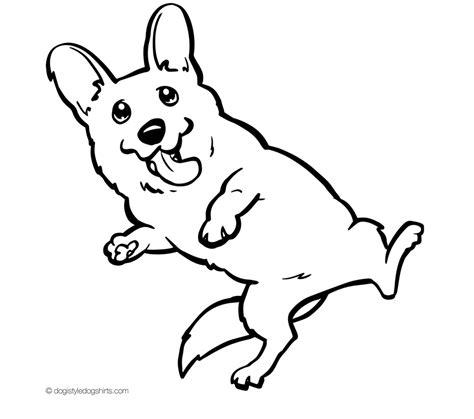 Corgi Dog Printable Coloring Pages Coloring Pages Corgi Coloring Pages