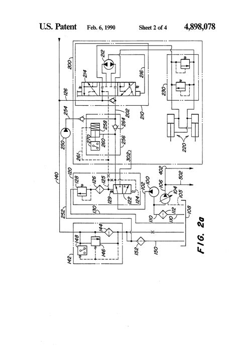 patent us4898078 hydraulic system for a work vehicle