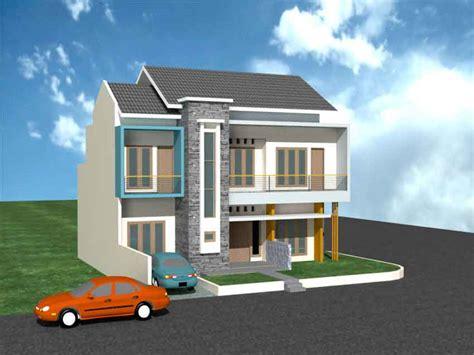 membangun rumah minimalis untuk lahan kaveling sudut