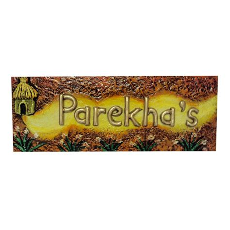 Decorative Name Plates For Home parekha s decorative name plate buy parekha s
