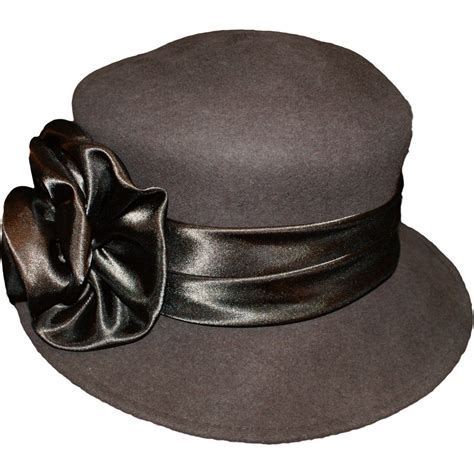 accessories womens wool felt vintage cloche hat hats