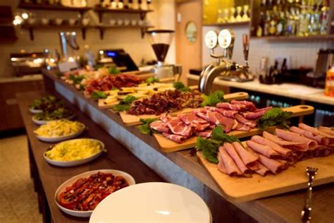 Lunch Buffet Picture Of Smarthotel Hammerfest Buffet Lunch