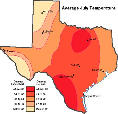 temperature map texas gates of vienna texas squared