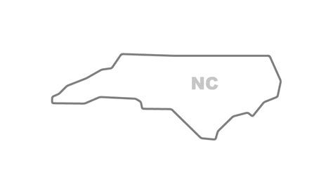 How To Draw The Outline Of Carolina by Original State Outlines Flippingxdesign