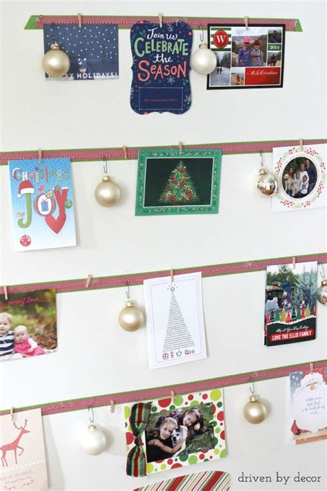 decorate with christmas cards www indiepedia org