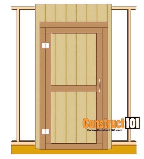 cool ideas   plans    build  shed door