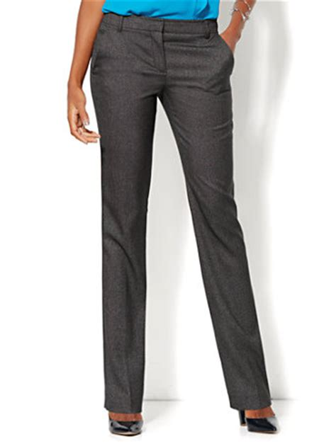 Catwalk To Carpet 7th On Sale Black Tie Gala Dinner by 7th Avenue Design Studio Runway Fit Slim Leg Black