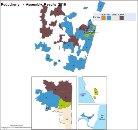 Pondicherry Mba Results 2016 by Puducherry Assembly Vidhan Sabha Election 2016 Results
