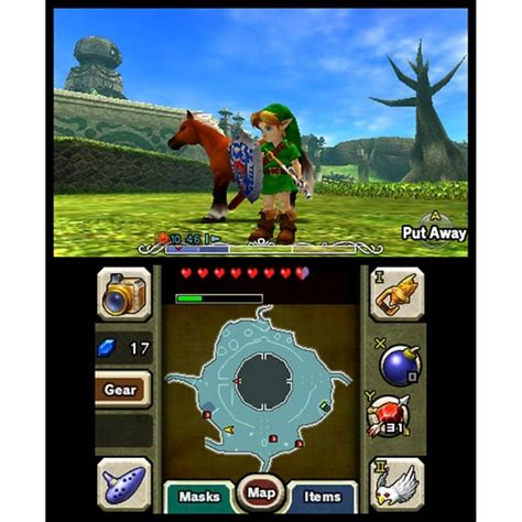 Kaset 3ds The Legend Of Majora S Mask 3d The Legend Of Majora S Mask Nintendo 3ds Target