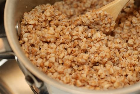 buckwheat groats raised from scratch