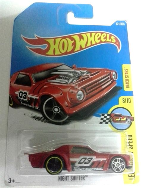 hot wheels night shifter red    pm