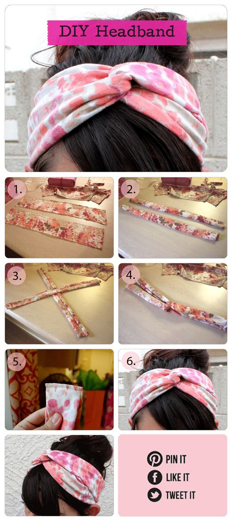 Handmade Headband Ideas - summer diy fashion ideas diy headband yes a