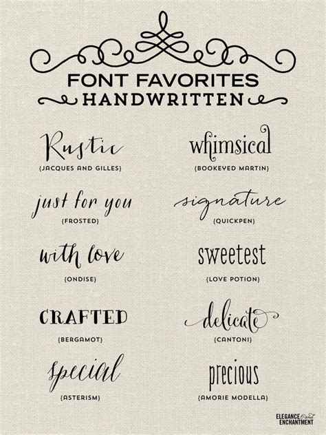 the saturday 6 handwriting fonts and typography