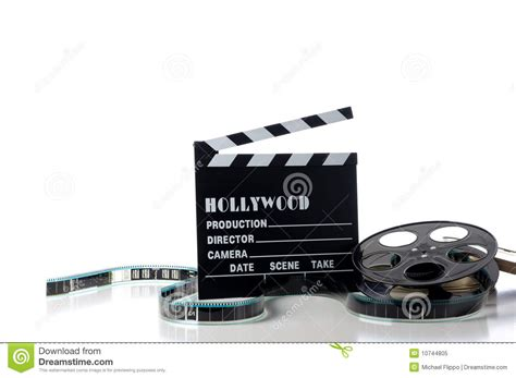 film hollywood it hollywood movie items royalty free stock photo image