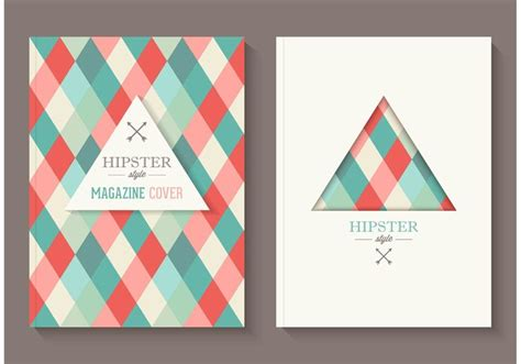 magazine layout vector free download free hipster magazine covers vector download free vector