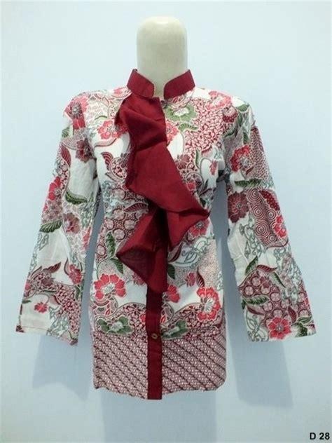 Atasan Wanita Polos Kalung Bulu Lucu model baju batik wanita untuk kerja ide model busana